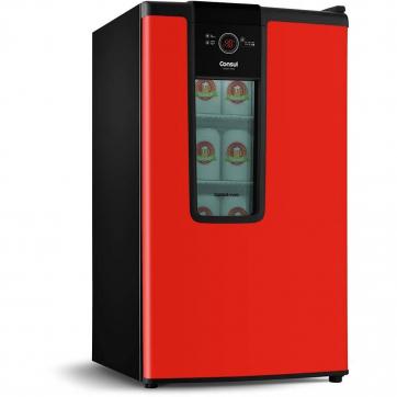 Geladeira/refrigerador 82 Litros 1 Portas Vermelho - Consul - 110v - Czd12avana