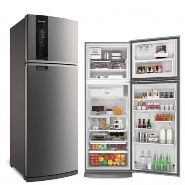 Geladeira/refrigerador 478 Litros 2 Portas Inox - Brastemp - 110v - Brm59akana