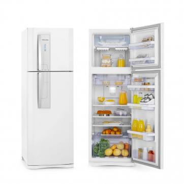 Geladeira/refrigerador 382 Litros 2 Portas Branco - Electrolux - 220v - Df42